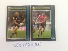 Penrith Panthers - Dean Whare & Jamie Soward 2016 NRL Chocolate Player Stickers