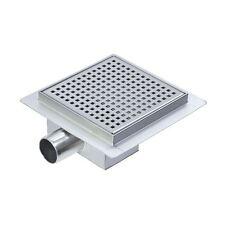 """150mm in ACCIAIO INOX """"SQUARE"""" ambienti umidi / DOCCIA un sistema di drenaggio"""