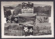 PORDENONE BARCIS 03 VAL CELLINA - SALUTI da... VEDUTINE Cartolina FOT viag 1963