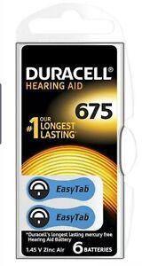BATTERYHEARING AID DA675 6PKDURALOCK Batteries Non-rechargeable - CM85870