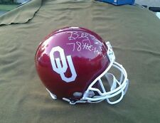 Oklahoma SOONERS Authentic Full Size Riddell Autograph Helmet OWENS SIMS WHITE