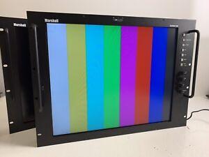 """Marshall Electronics V-R191P-SDI 19"""" High Resolution Rack Mountable LCD Monitor"""