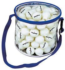 BANDITO Tischtennis Bälle * 100 Stück 1-Star-Qualität (Turniergröße) Tragetasche