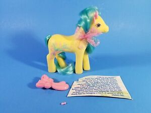 My Little Pony G1 Year 7 Sweetheart Sister Pony Frilly Flower