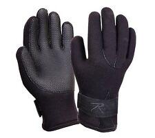 Waterproof Black Cold Weather Neoprene Gloves  33550 Rothco