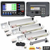 3Achsen LCD Digitalanzeige TTL lineare Skala für Fräsen Drehmaschinen-Maschine