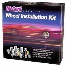 McGard Black 5 Lug Vehicles Install Kit (M14x1.5) Set of 16 Lug Nuts #84527