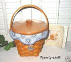Longaberger 2001 Horizon Of Hope Basket Set ~ Classic Stain