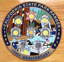 California State Parks - Large 12' patch featuring 8 historic state park badges