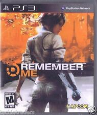 Remember Me (Sony PlayStation 3, 2013)    Factory Sealed Celophane
