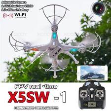 2017 X5SW-1 Wifi FPV UAV 2.4Gh 4CH RC Camera Drone W/ 0.3MP White Quadcopter RTF