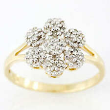 Handmade Yellow Gold Fine Diamond Rings