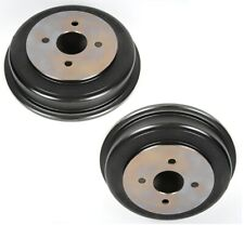 NEW Pair Set of 2 Rear Brake Drums ACDelco GM OE For Saturn Ion 2003-2007