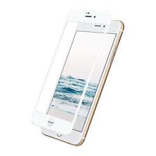 ^ 3D Schutzfolie Display HartGlas 9H Echt FULL FACE Für Samsung Galaxy A6 Weiß