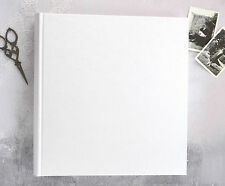 Large Ivory Wedding Photograph Album - Traditional Book Bound Photo Album & Box