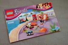 Lego FRIENDS Instruction Manual Only #41099 Heartlake Skate Park  