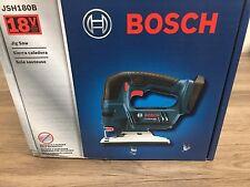 New Bosch JSH180B 18V 18 Volt Jig Saw With 3 Blades New in Box NIB Bare Tool