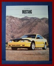 1994 Ford MUSTANG Accessories Brochure - MINT New Old Stock FREE SHIPPING