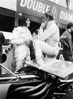 8x10 Print Graham Hill Lotus  British racing driver and team owner 1969 #AUTO322