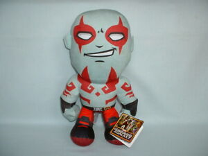 """GUARDIANS OF THE GALAXY 13"""" DRAX Cuddly Soft Beanie Plush Toy With Tag (MARVEL)"""