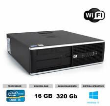 Ordenador Hp 8200 sff Core i5 16gb 320 gb WI-FI ideal estudiantes teletrabajo