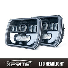 60W 5X7 CREE LED Headlight High Low Beam for Jeep Wrangler YJ Cherokee 2PCS