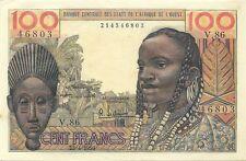 New listing West African States 100 Francs 1959 - P-2 - Super Fresh Choice Crisp Au/Unc