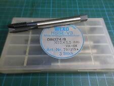 1 Stück WEXO M12 x 1,5 LH; HSSE V3; DIN 374 B; links; NEU