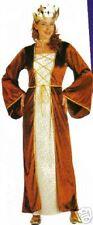 COSTUME DEGUISEMENT Médiévale REINE TAILLE 44/48 XL MARQUISE COURTISANE 3128