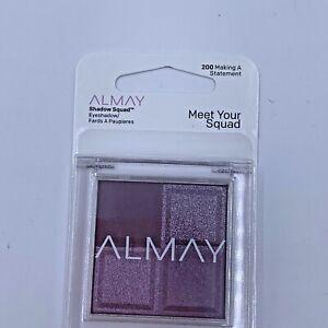Almay meet your squad eyeshadow matte/satin/metallic/glitter 200 making a state.
