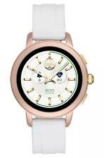 NIB TORY BURCH TBT1001 Touchscreen Smartwatch White Silicone Strap