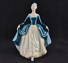 "Royal Doulton Regal Lady Blue Dress HN2709 (7 3/4"" Tall)"