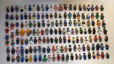 LEGO Minifigures Bulk Lot 158 Assorted Minifigures GENUINE LEGO 600 Grams