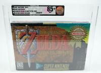 Super Nintendo *The Legend of Zelda: A Link to the Past* SNES VGA 85+ NM+