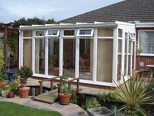 LEAN TO DIY QUALITY CONSERVATORY. SIZE: 4M X 3M-FULL HEIGHT STYLE BESPOKE!