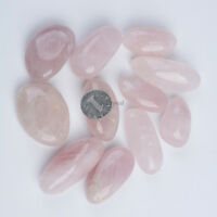 700g Bulk Large Tumbled Stone ROSE Quartz Crystal Healing Reiki Mineral 45-60mm