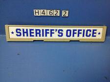 (H462.2) playmobil enseigne maison shériff ref 3423 3181