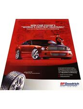 2005 Ford Foose Mustang BF Goodrich - Vintage Advertisement Car Print Ad J413