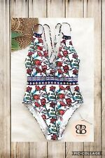 Women's Floral Onepiece Swimsuit