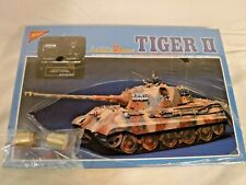1/35 Nichimo Motorized RC Line Twin Motors German Tiger II w/ Commander Sealed