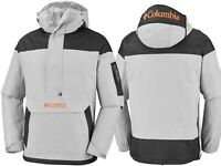 COLUMBIA CHALLENGER PULLOVER JACKET - GREY- Men's Jacket - 039 Waterproof Fabric