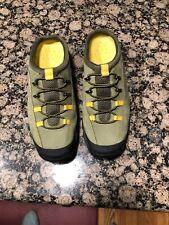 Cole Haan Waterproof Leather Green Mules 8.5 M