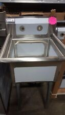 1 Compartment Sink One Bay Prep Sink