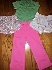 Crewcuts J Crew Flamingo Gymboree Circo Lot Of 4 Shirt Shorts Pants Girls Sz 3T