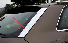 For Audi Q3 2012-2015 Chrome Rear Window Decoration Strip Cover Molding Trim