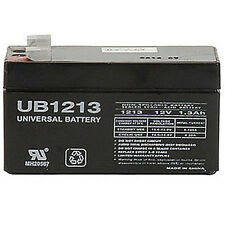 UPG Panasonic LC-R121R3P SLA Battery 12V 1.3Ah Rechargeable