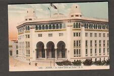unmailed post card Alger Le Nouvel Hotel des Postes Algiers Algeria