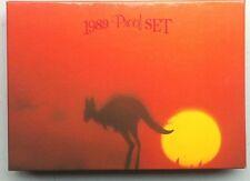 1989  AUST PROOF SET OF 8 COINS  AUSTRALIA NATIVE ANIMALS
