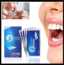 bandes blanchiment dents 14 paires(28 pcs) strips dentaire whitening bucco hygiè