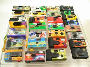 Einweg-Kamera single use camera - collection 30 pieces Stück  /14